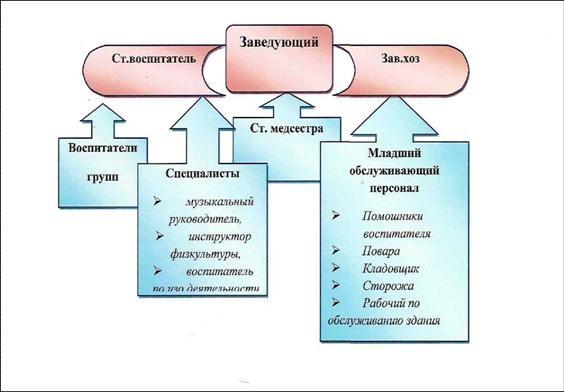 Структура управления МДОУ.